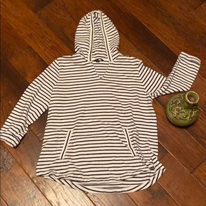 Lands End Hooded sweat shirt with pockets